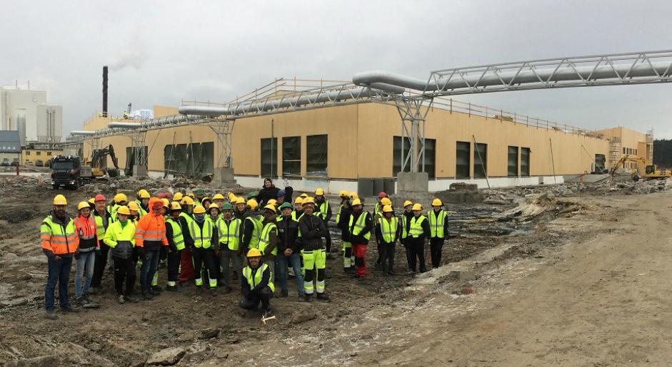 Greåker Videregående VK1 Byggfag Besøker Borg Havn 1