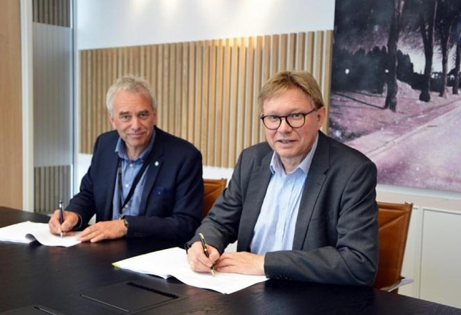 PRESSEMELDING Tidenes Utbyggingsavtale I Borg Havn På Plass 1