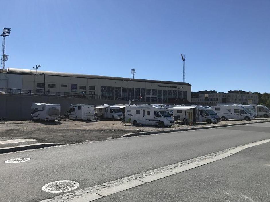 Rekord I Antall Bobiler I Bobilhavna I Fredrikstad 1