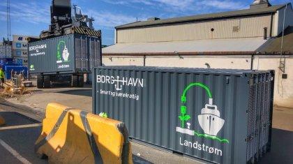 Landtrømcontainer 2